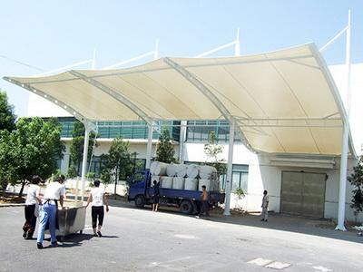 太仓市资产经营集团有限公司关于新建钢结构膜结构车棚