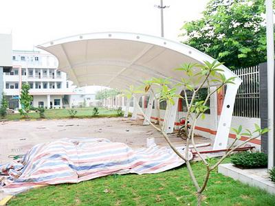河南科技大学第一附属医院新区医院非机动膜结构车棚项目