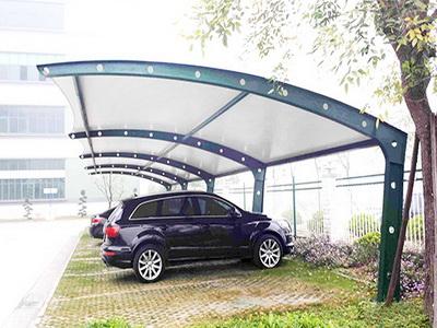 中国人民银行清算总中心北京中心停车棚膜结构