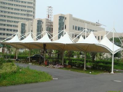 贵州海子宝丰农业开发有限公司停车棚膜结构