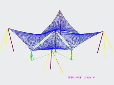 景观张拉膜设计CAD图纸