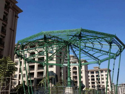 景观钢结构安装