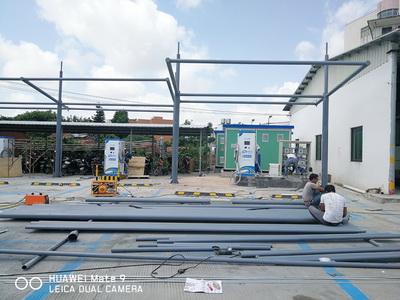 新能源汽车充电膜结构车棚