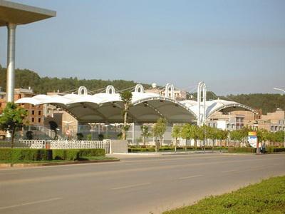 达州市体育中心网球场膜结构