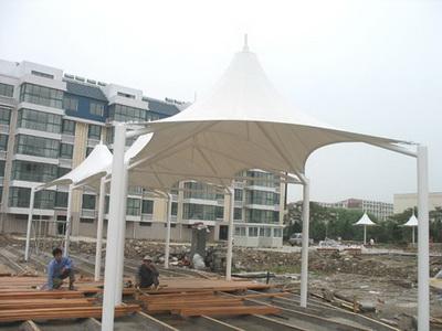 新凤凰大酒店园林景观膜结构