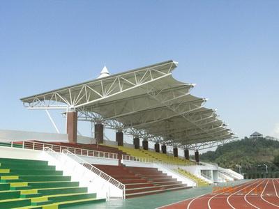 泗阳县实验初级中学体育看台膜结构