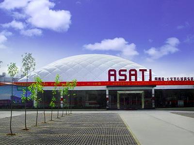 体育运动中心充气膜结构